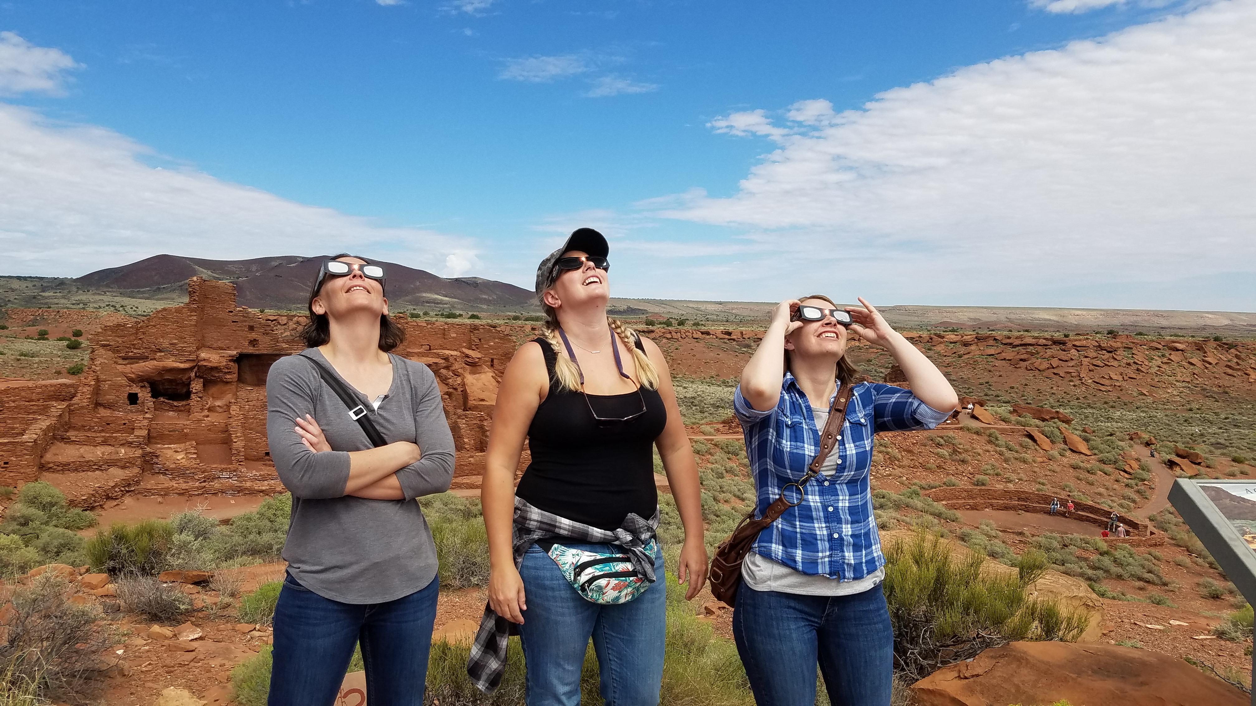 Hatch Staff Viewing Eclipse