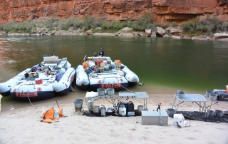 Grand Canyon raft trip