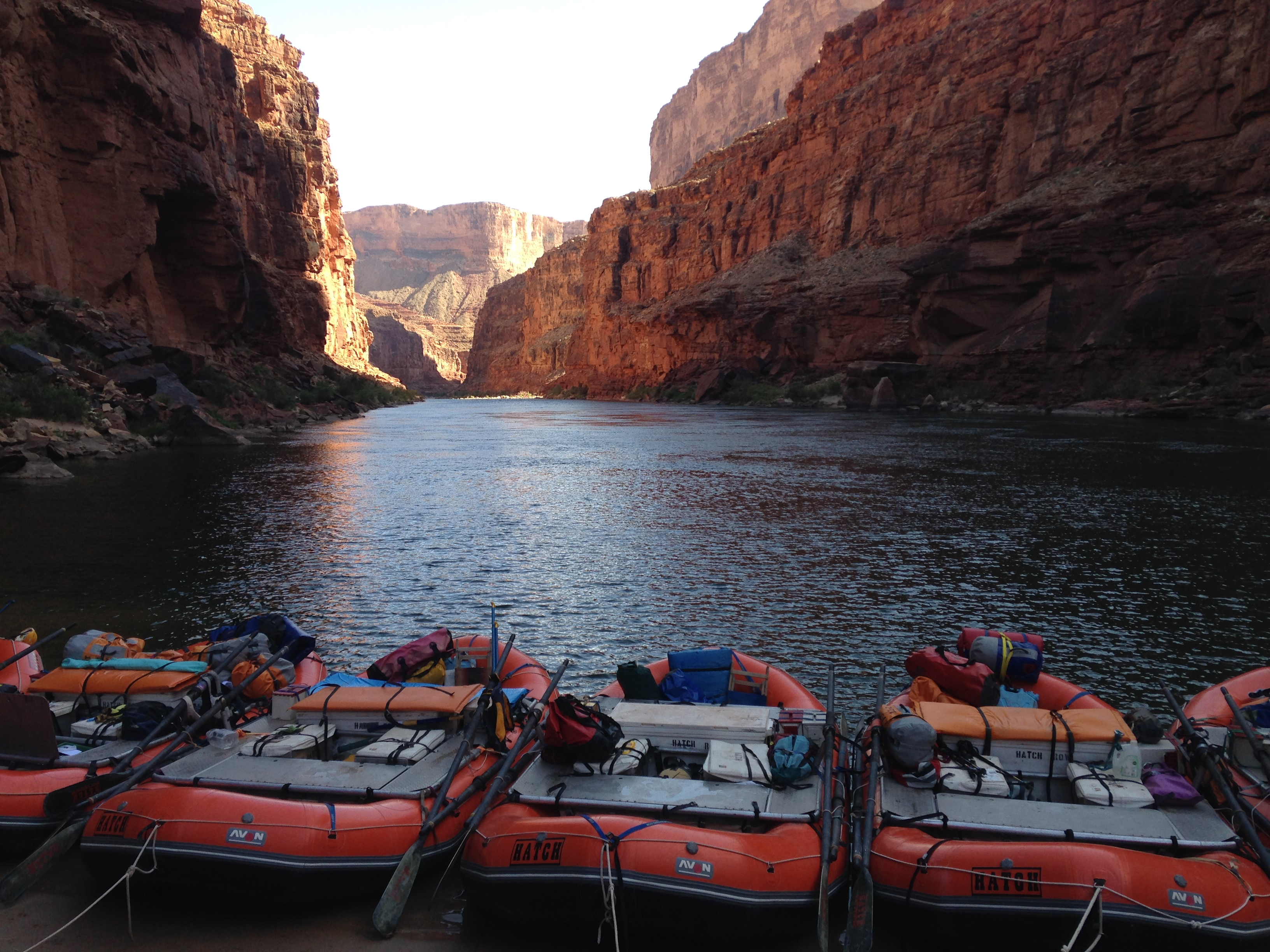 Grand Canyon rafting reservations