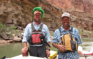 Hatch guides, Tanner and JP (Photo Credit: Heather Henderson)