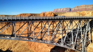 River rafting Grand Canyon - Navajo Bridge - California Condor