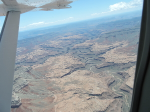 Hatch River Expeditions, Grand Canyon, Flight