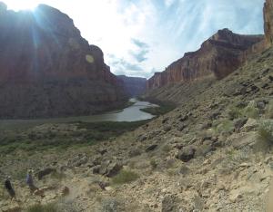 Colorado River from Nankoweap Granaries