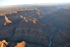 Confluence the Little Colorado River and Colorado River