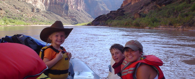 Hatch River Expeditions, White water rafting with kids, Colorado River trip
