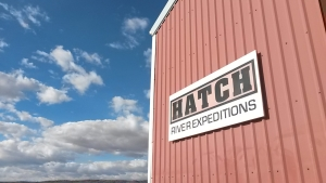Hatch River Expeditions warehouse