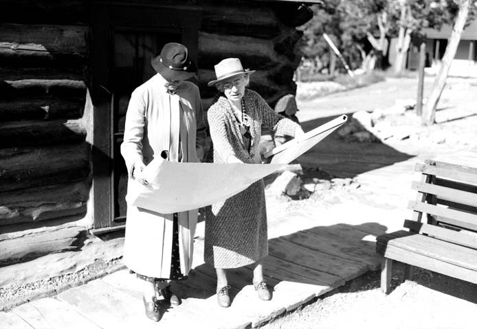 Mary Colter, Grand Canyon, women of Grand Canyon
