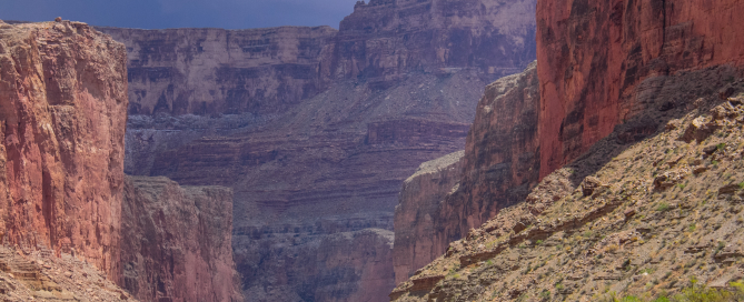Hatch River Expeditions Rain Storm Grand Canyon